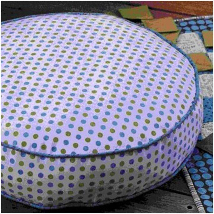 Créez vos coussins de sol - Photo : Marie Claire Idées