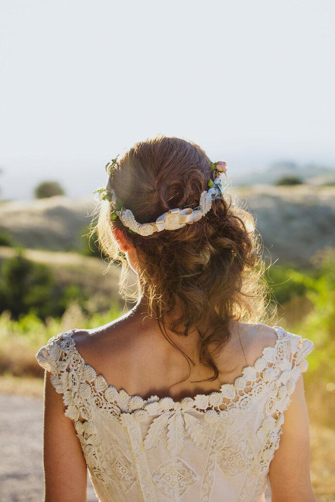 Peinados románticos 2016 - Melissa Fuller