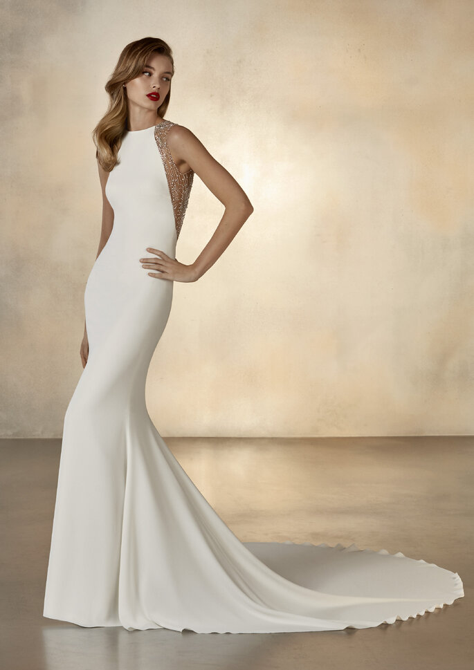 vestido de noiva justo