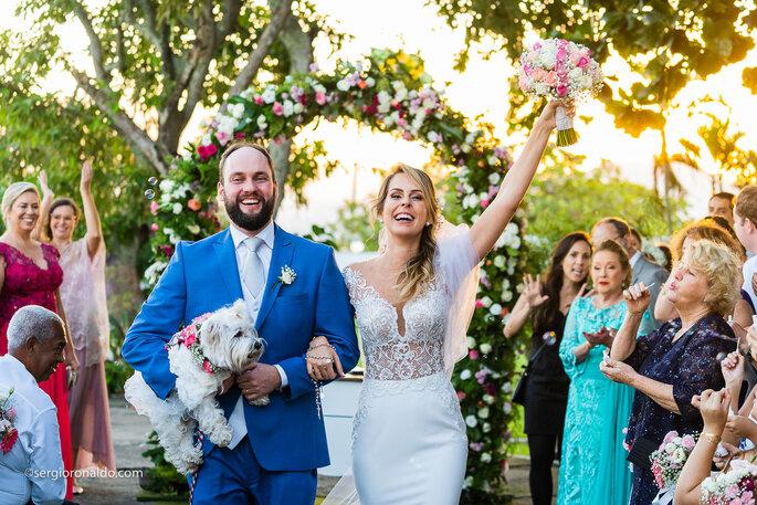 Pet na cerimônia de casamento