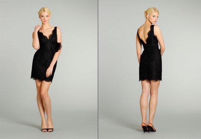 costo moderado venta de bajo precio nueva precios más bajos Vestidos elegantes en color negro para las damas de boda