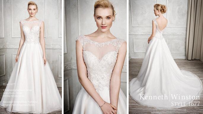 Kenneth Winston Präsentiert Die Neuen Brautkleider Für Den