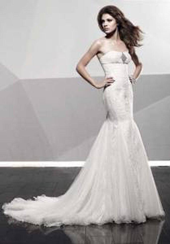 Vestido de novia - Pepe Botella - Vestido largo, palabra de honor