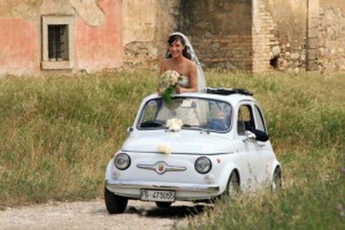 Sognate nozze vintage? (foto www..fotografi-matrimonio.com)