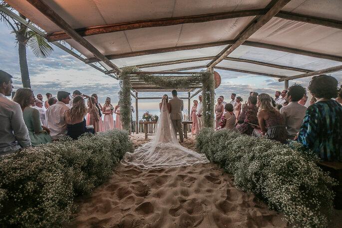 Cerimônia praia