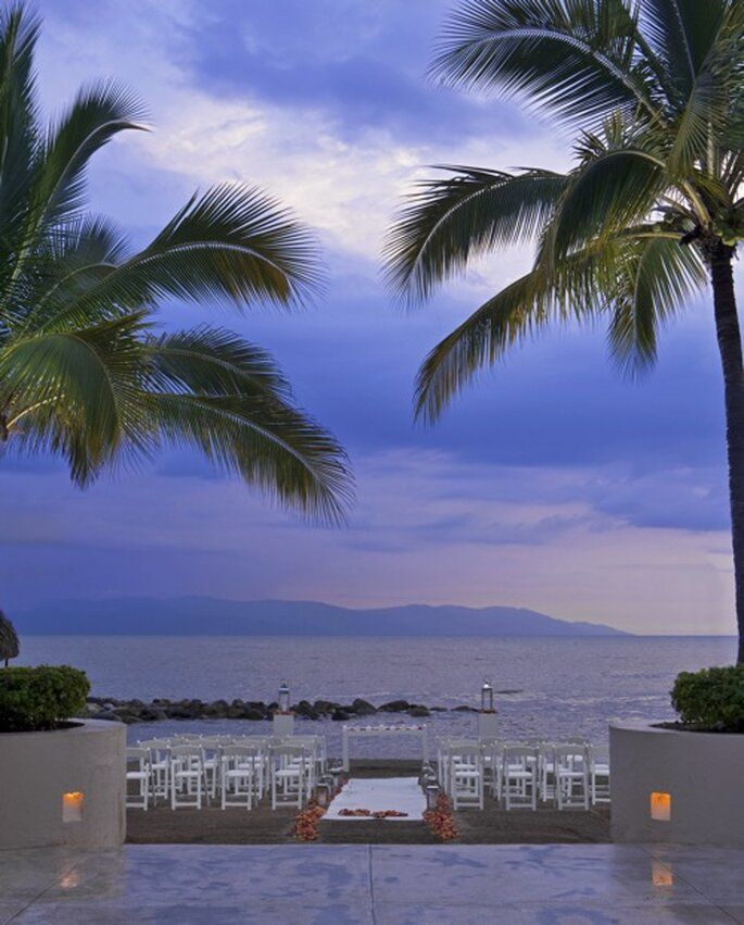 Imagina una ceremonia romántica en la playa - Foto The Westin Resort & Spa Puerto Vallarta
