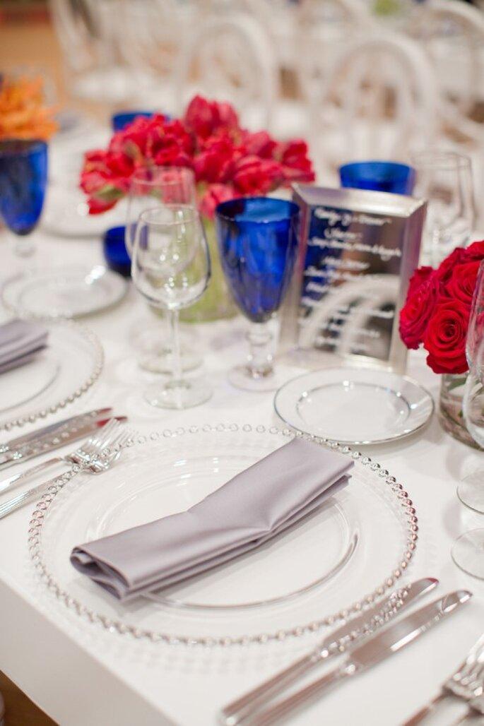 Los colores perfectos para una decoración de boda en 2015 - Foto Christina McNeill