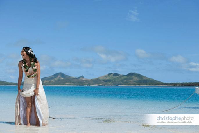 Weiße Sandstrände + blaues Meer= Romantik pur  - Foto: Christophe Foto