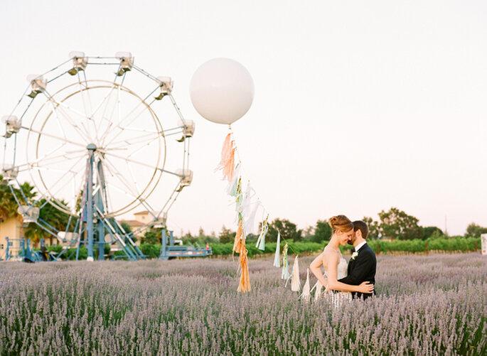 Un carnaval de amor en una granja con muchos acentos de color - Foto Lisa Lefkowitz