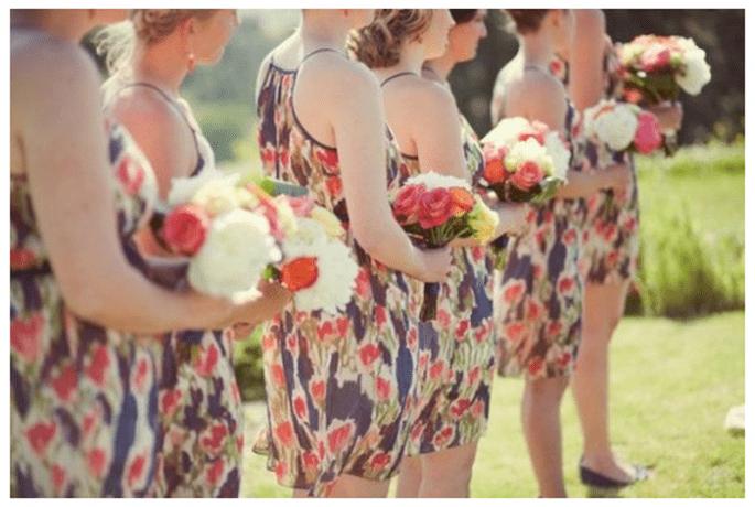 Tendencias en vestidos para damas de boda - Foto Jessica Watson