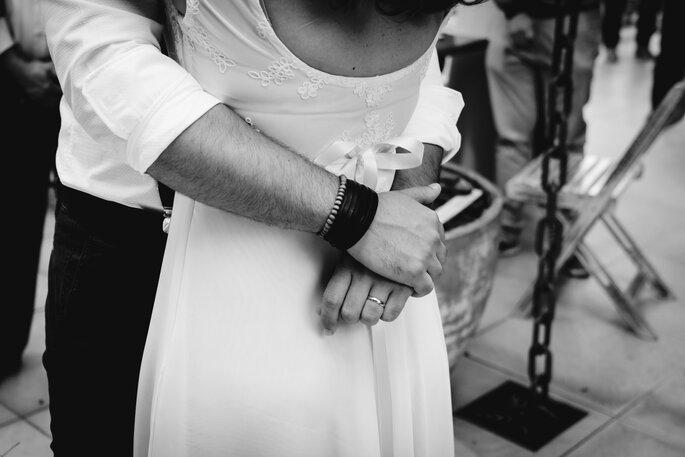 Abraço matrimonial
