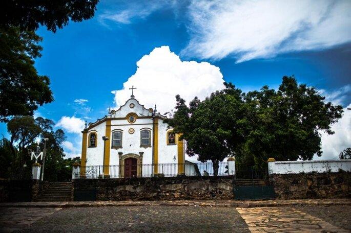 Igreja Santíssima Trindade em Tiradentes