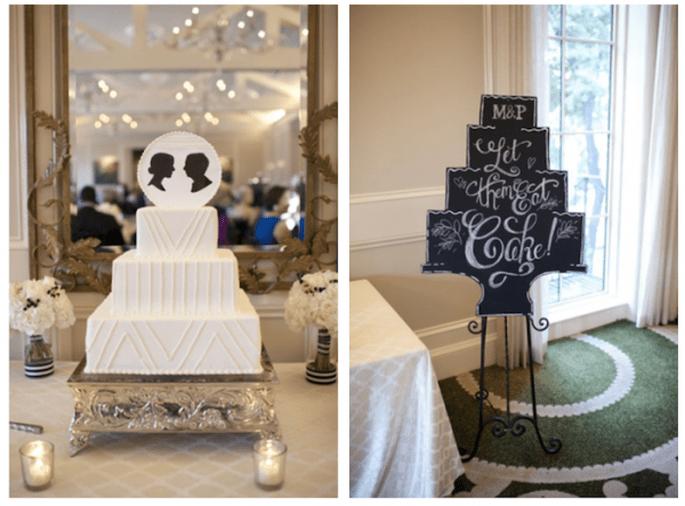 Siluetas para decorar tu boda - Foto Alyse French Photography