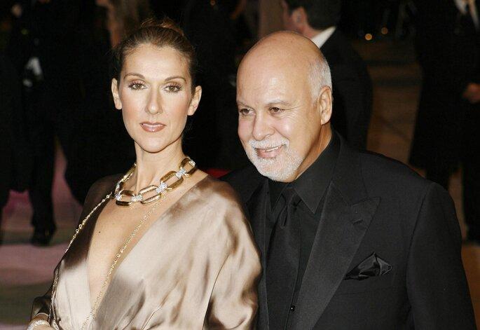 Céline Dion et René Angélil. Credits: Gtres