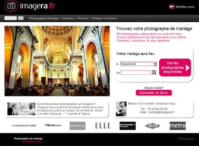 Site imagera - Choisir un photographe pour son mariage