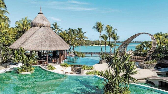 Resort de luxo nas Ilhas Mauritius