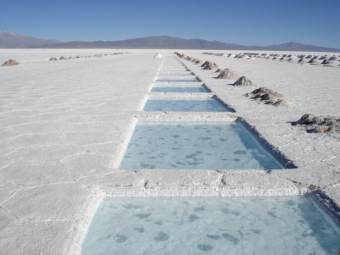 Photo : SALINAS GRANDES - JUJUY
