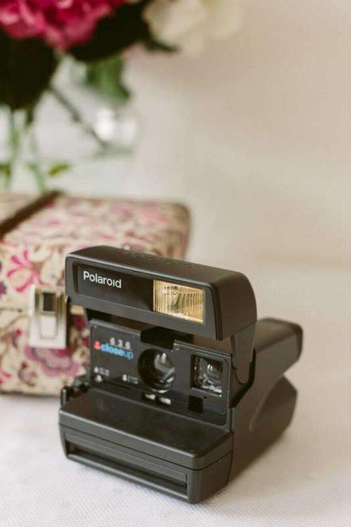 Polaroid Kamera als Hochzeitsgeschenk