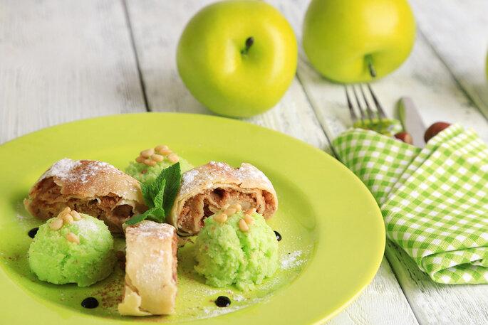 Glace à la pomme - Shutterstock