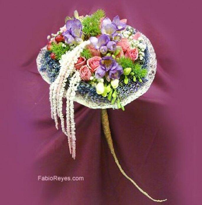 Ramos de novia. Foto de Favio Reyes, diseño en flores.