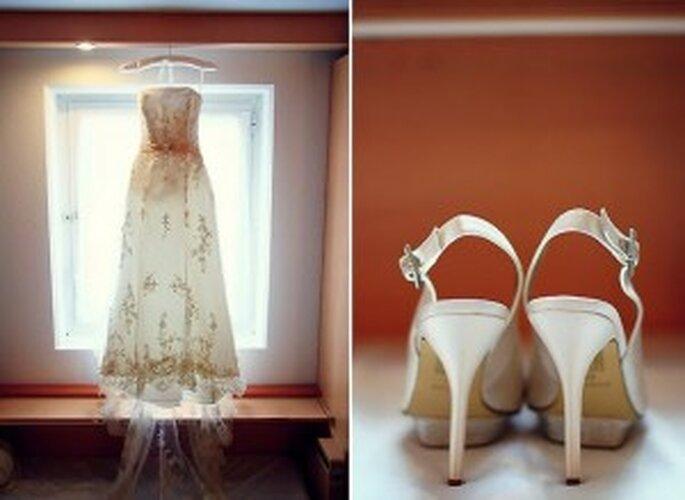 Fotos de boda estilo vintage - Izzy Hudgins