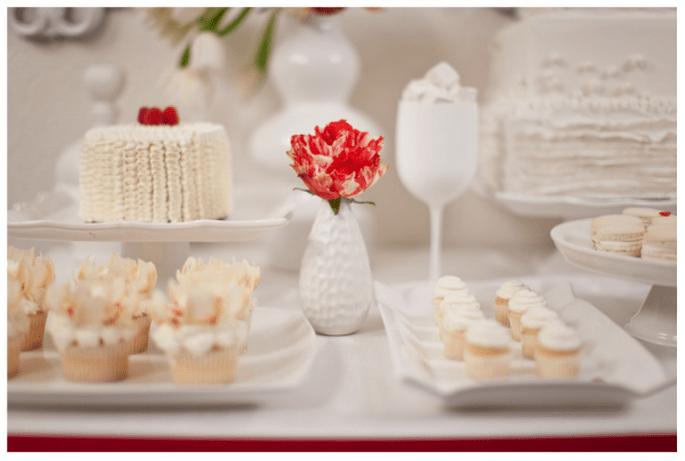 Una boda en rojo inspirada en San Valentín - Foto Gabriel Ryan Photography
