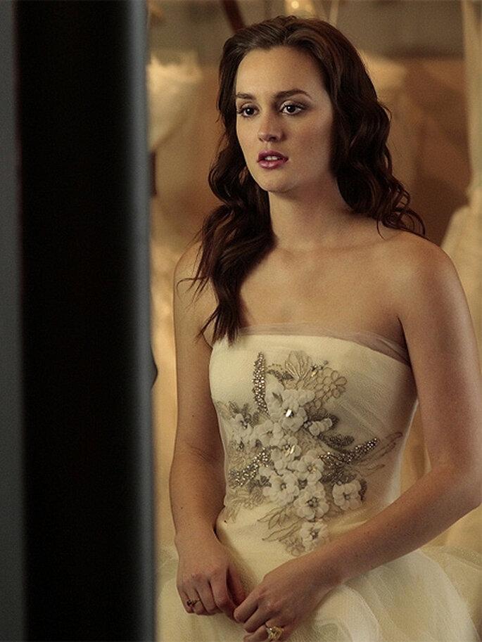 El vestido de novia de Blair Waldorf es un diseño de Vera Wang