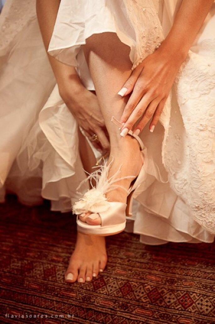 Las novias cuidan muchos las uñas para la boda. Foto: Falvia Soares