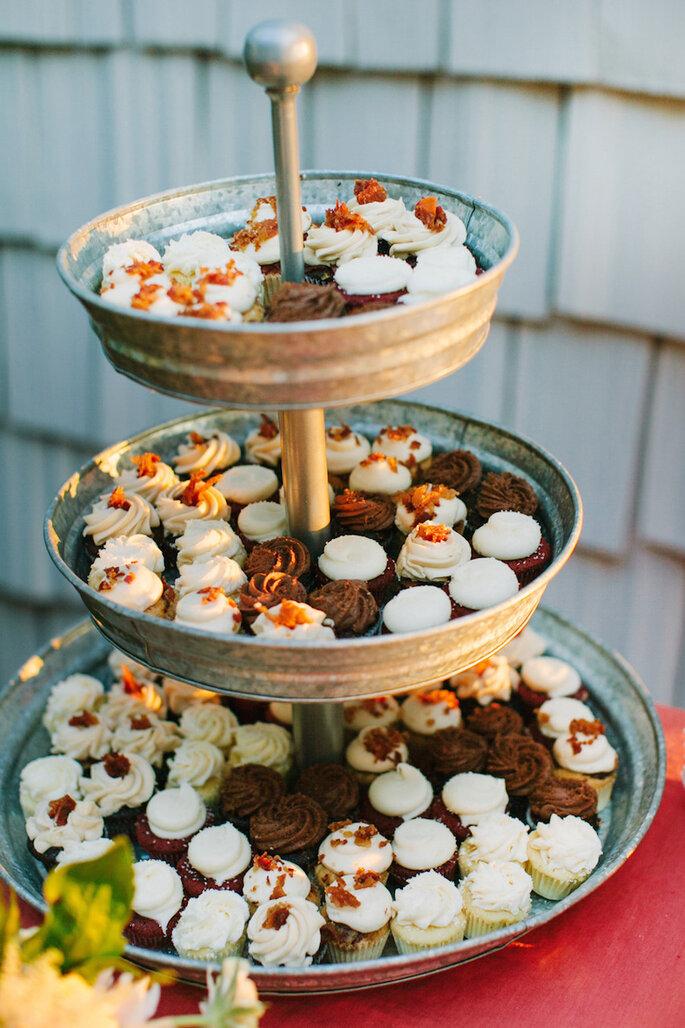 Alternativas deliciosas para el pastel de bodas - Katie Stoops Photography