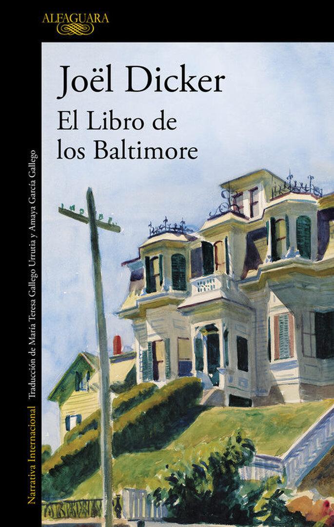 Foto: El Libro de los Baltimore (Joël Dicker, 2015)