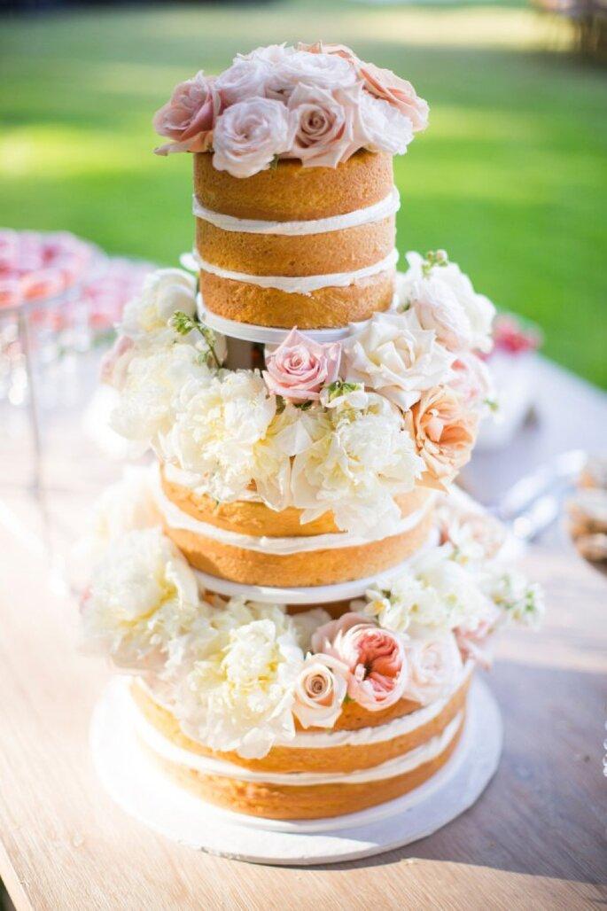 Pasteles de boda que romperán esquemas en 2015 - Foto Nancy Neil Photography