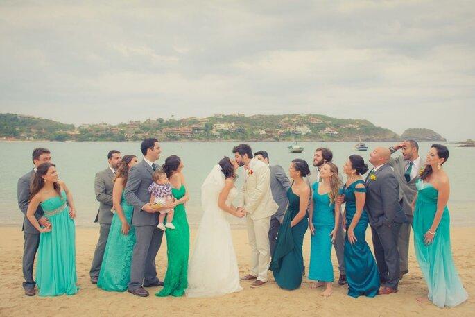 lista de convidados do casamento