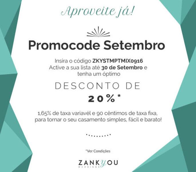 Promoção Zankyou!