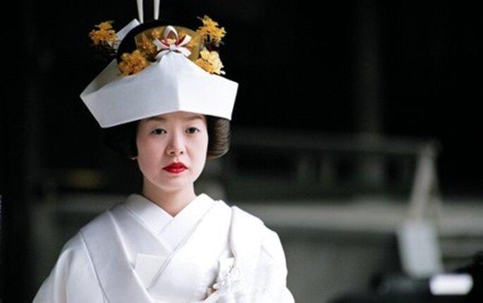 Vestidos de novia con estilo japonés - Tendencias nupciales 2010