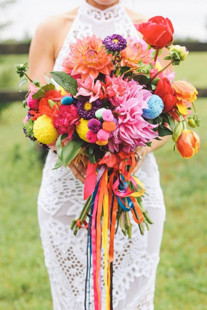 Cómo elegir tu ramo de novia