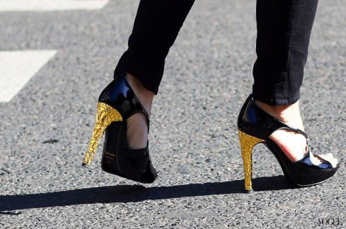 Zapatos Tom Ford. Foto  Vogue Street Style Paris