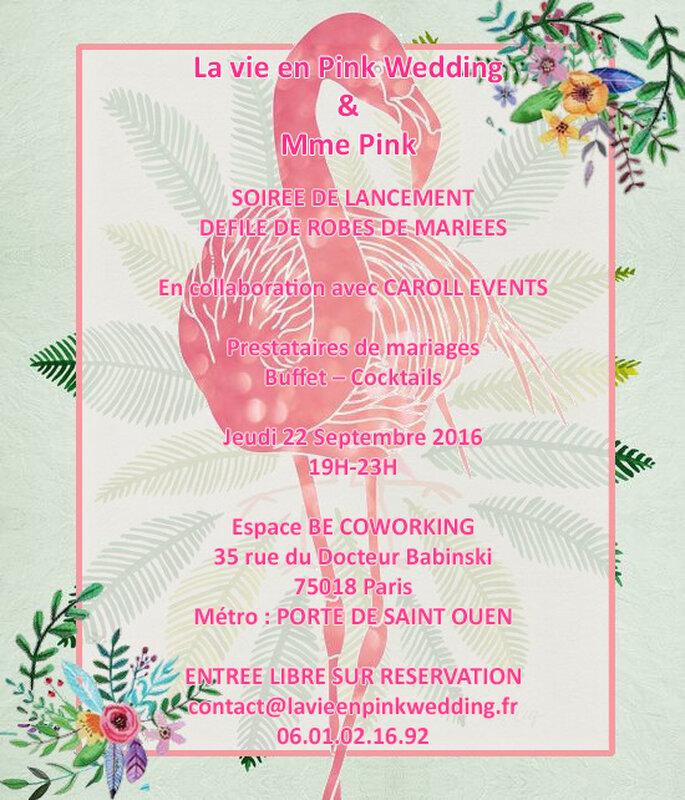 Photo : La vie en Pink Wedding