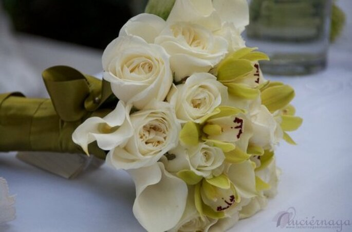 Ramos de novia estilo bouquet. Foto de Maria Limón Atelier Flora