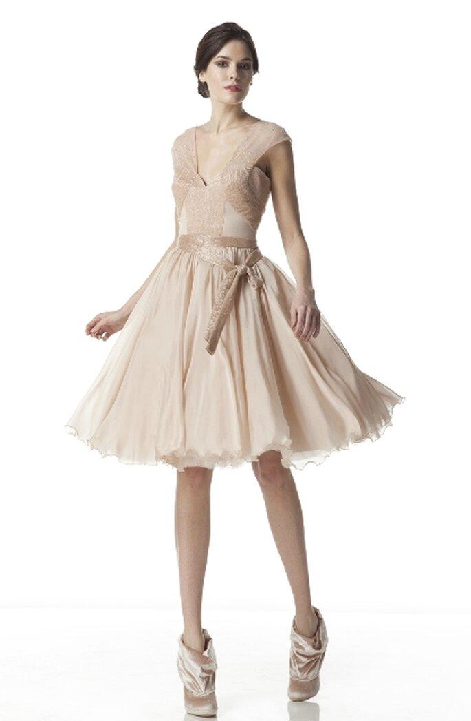 Vestidos de novias cortos y modernos