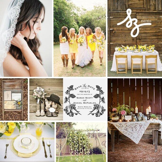 Inspiración para una boda country - Foto Chloe Murdoch Photography. Chantel Marie Photography, Ryan Ray