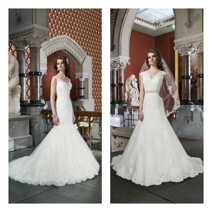 Einzigartig und glamourös: Die Brautkleider-Kollektion 2014 von Justin Alexander
