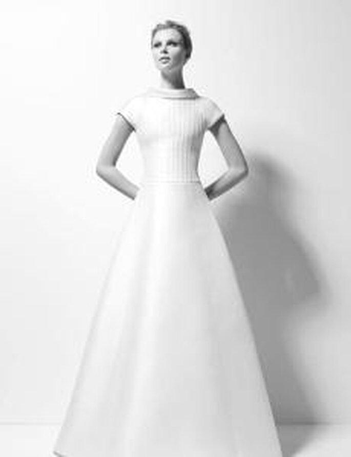 Karl Lagerfeld 2010 - Xiana, vestido en gazar de seda