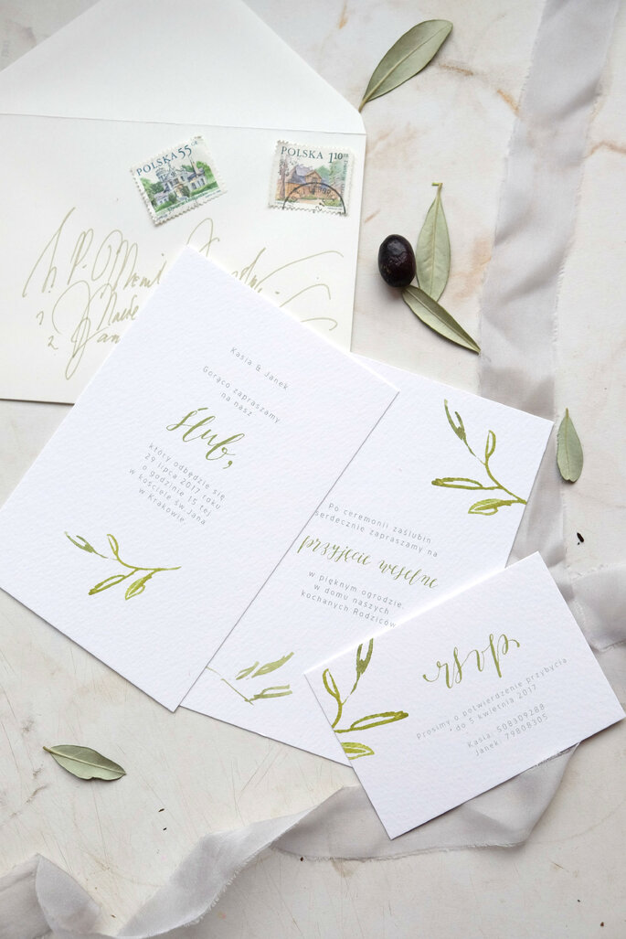 zaproszenie toskania Love Prints