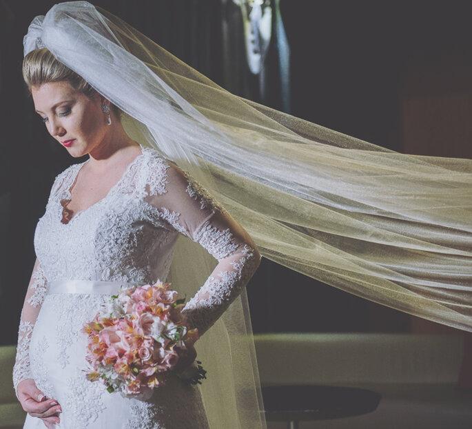 cb69c30520 Vestido de noiva para grávida  dicas para escolher o modelo perfeito ...