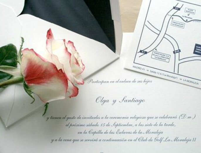 Foto: Maite Sanz Invitaciones