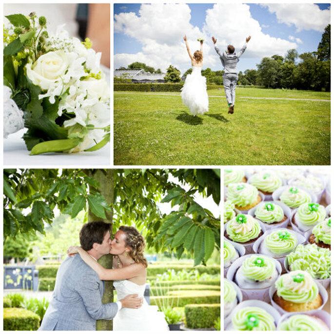Predicciones de bodas estilo ecológico. Foto Femke van den Heuvel Fotografie