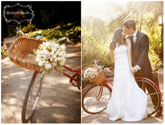 Fotos de boda con bicicletas - Foto Boutwell Studio