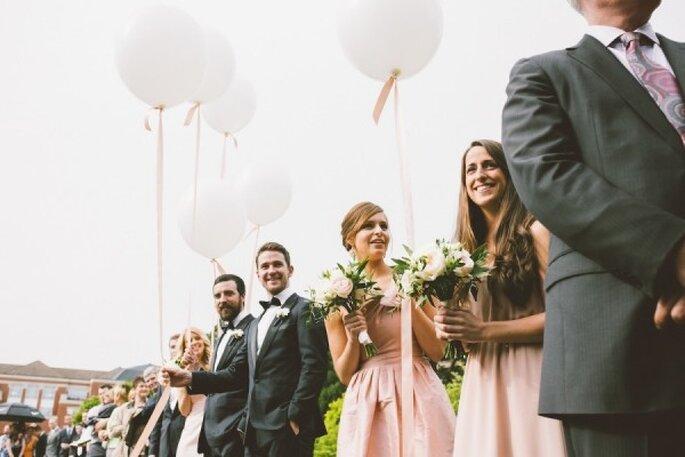 Cómo planear una boda en sólo 4 meses - Foto Christy Cassano-Meyer
