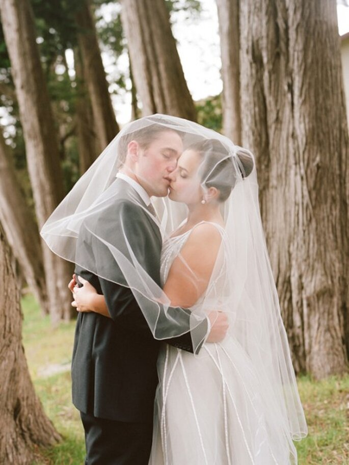 Guía de estilo e historia del velo de novia - Foto Elizabeth Messina