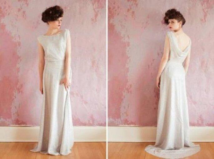Vestido de novia de Sarah Seven 2013. Fotos: Sarah Seven